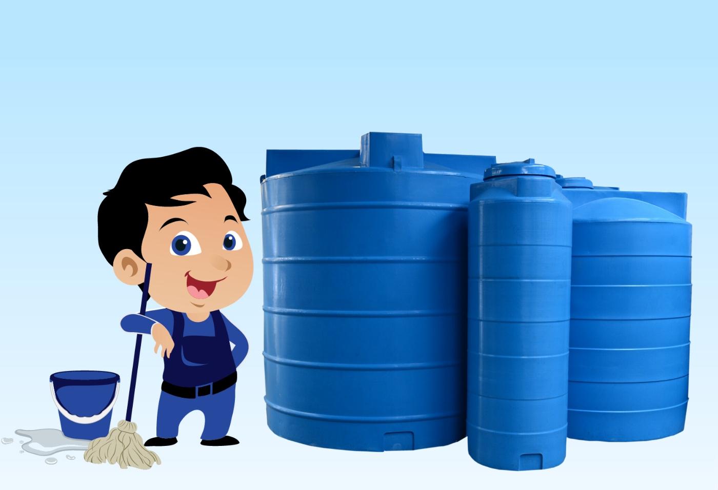 تنظيف الخزانات بمواد آمنة على صحة الإنسان